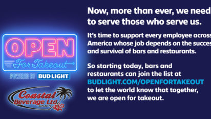 Open For Takeout – Bud Light Special Offer (Watch Video)